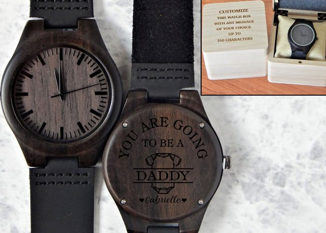 """Personalized """"You're Going to be a Daddy"""" Watch"""
